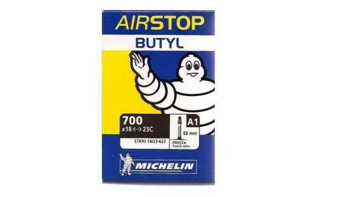 Chambre air michelin 700 x 18 25 a1 presta 52 mm sur for Chambre a air 13 5 6