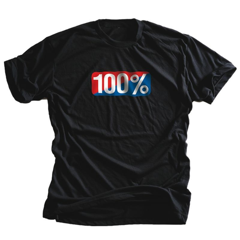 Tee shirt 100% Old School Black (Noir)