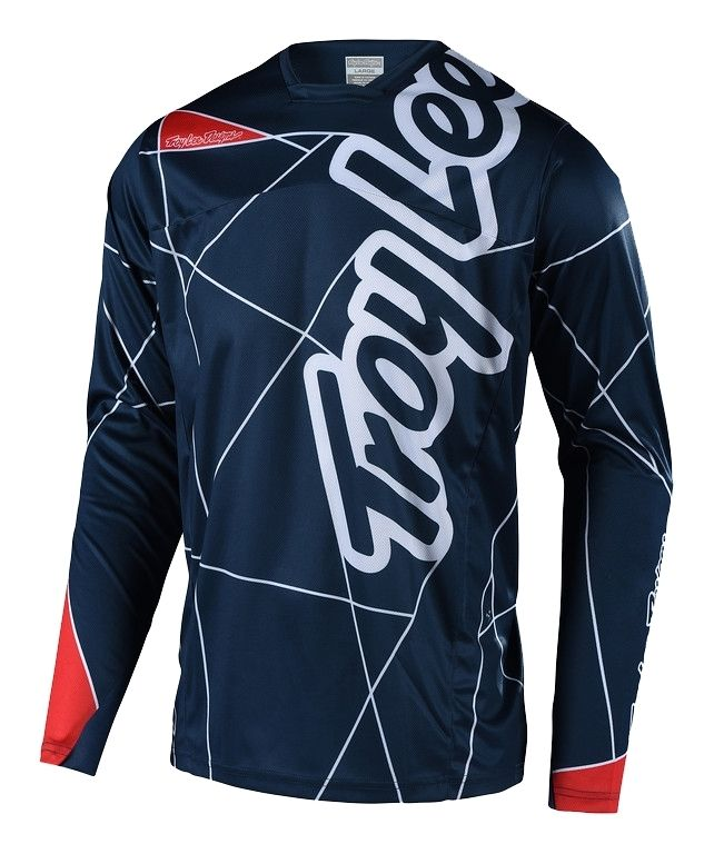Maillot Troy Lee Designs Sprint Metric Enfant Navy/Rouge