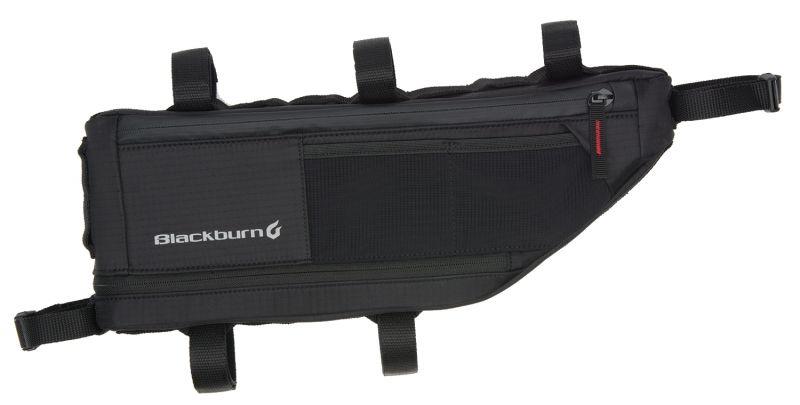 Sacoche de cadre bikepacking Blackburn Outpost M - 4,3/5,8 L Noir