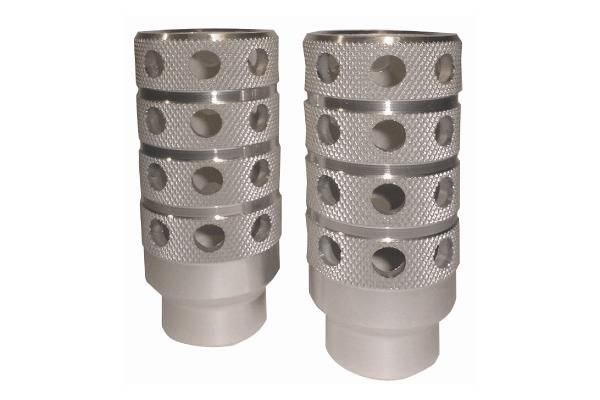 Repose-pieds pegs Massi 10 mm pour BMX (Paire)