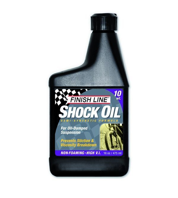 Huile de fourche Finish Line Shock Oil 10 WT - 16oz (473ml)