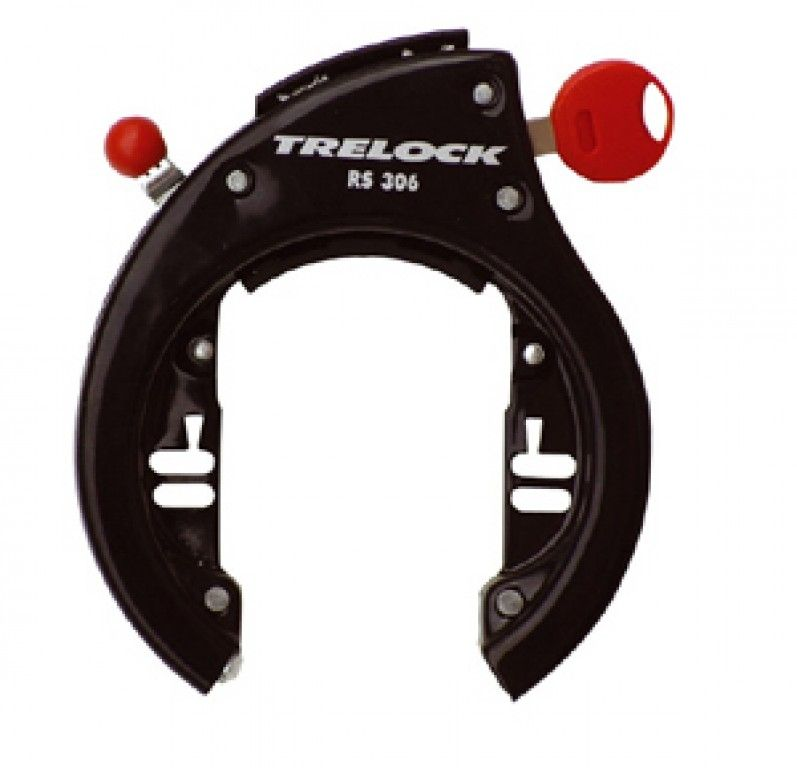 Antivol de cadre pour montage direct Trelock RS 306 NAZ Noir