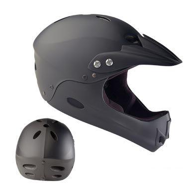 Casque BMX Noir Mat