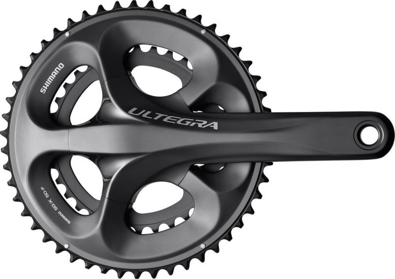 Pédalier Shimano Ultegra FC-6750 50/34 dents 170 mm Glossy Grey