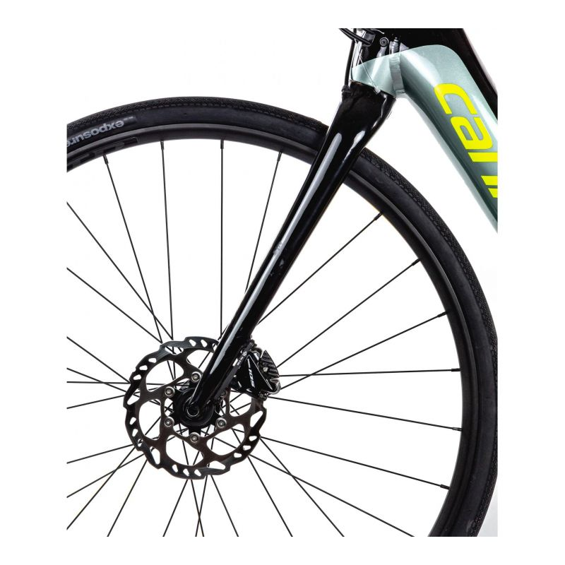 Vélo route électrique Cannondale Synapse NEO 2 Gris Sage/Jaune Volt - 5