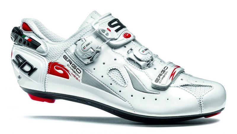 Blanc Ergo Carbon Chaussures Bike Sidi 4 Ultime Mega Composite Sur 4LA5Rj3