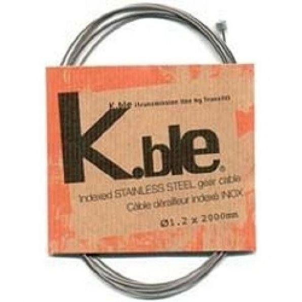 Câble dérailleur vélo VELOX galva 1.80 m (boîte de 25)