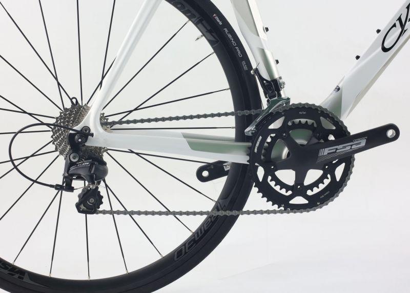 Vélo de route CKT by Virenque 368 SLR carbone Shimano 105 - 1