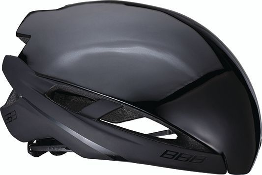 Coque pour casque BBB Icarus Snap-on Aéro Cover Noir brillant - BHE-77