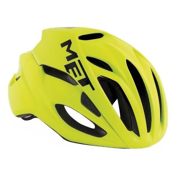 Casque MET Rivale Safety Jaune fluo