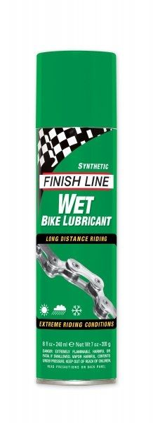 Lubrifiant Finish Line Wet Lube (Cross Country) - Spray 239 ml