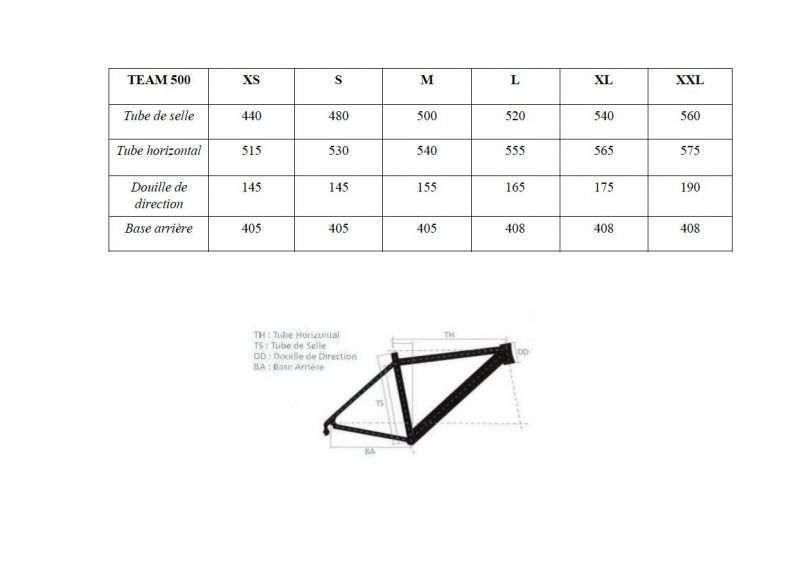 Cadre de route Orka Team 500 Aluminium Blanc (Sans fourche) - 6