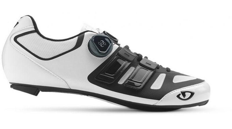 Chaussures route Giro Sentrie Techlace Blanc/Noir - 1