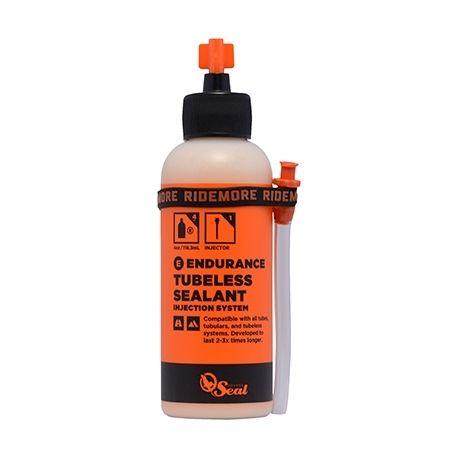 Liquide préventif anti-crevaison + applicateur Orange Seal Endurance flacon 119 ml
