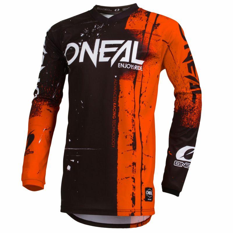 Maillot VTT O'Neal Element Jersey Shred Orange