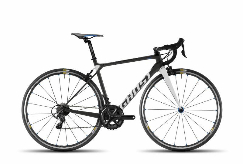 Vélo de route Ghost Nivolet 4 LC Titanium/Bleu