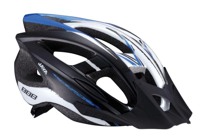 Casque BBB Jaya (noir/bleu) - BHE-28