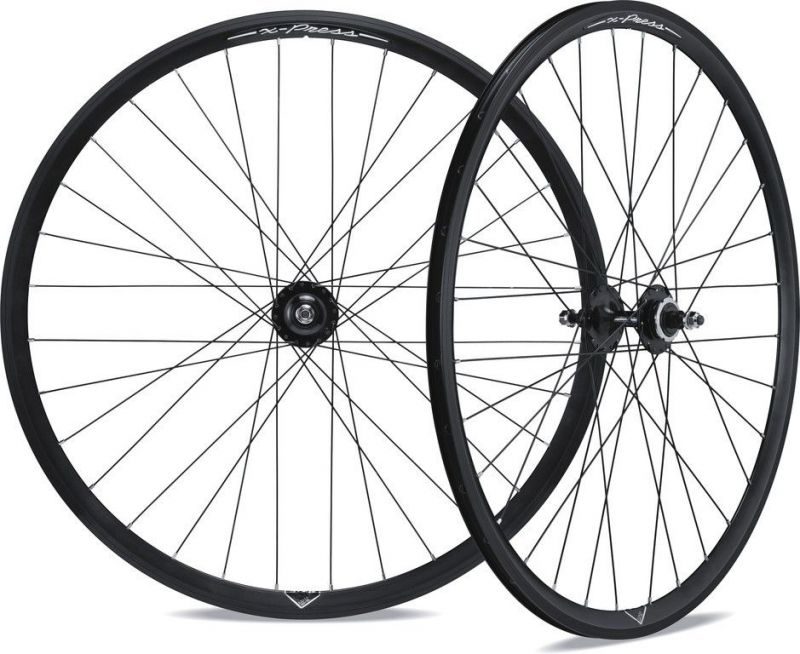 Paire de roues Miche X-Press 700c alu Single Speed Noir