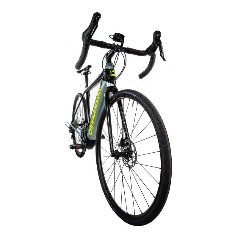 Vélo route électrique Cannondale Synapse NEO 2 Gris Sage/Jaune Volt - 1
