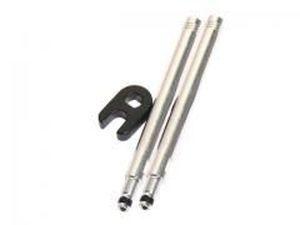 Prolongateur de valve Massi 60 mm Argent (x2)