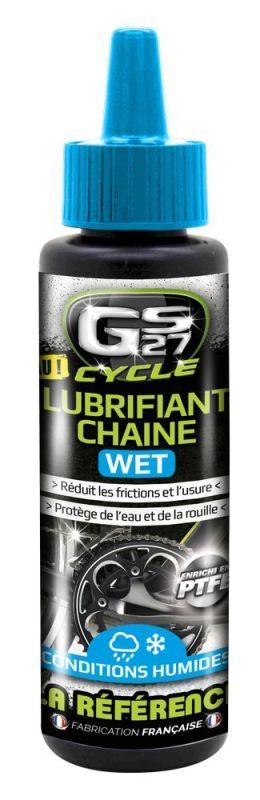 Lubrifiant chaîne GS27 Cycle Wet Flacon 125 ml