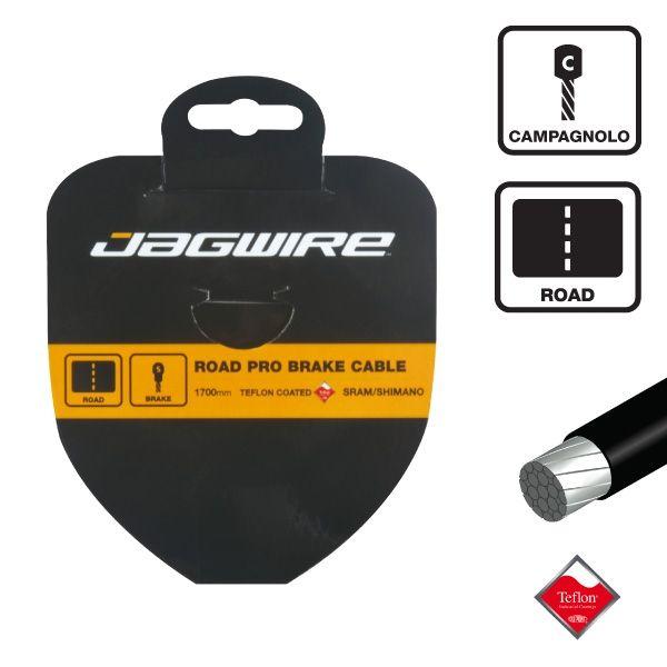 Câble de dérailleur Jagwire inox au Teflon 1.1x3100 mm - Campagnolo