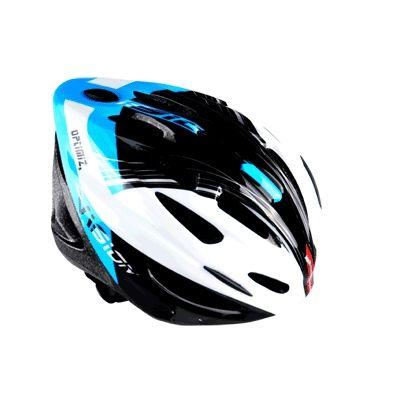 Casque Optimiz O-300 Vision Bleu/Blanc/Noir Verni