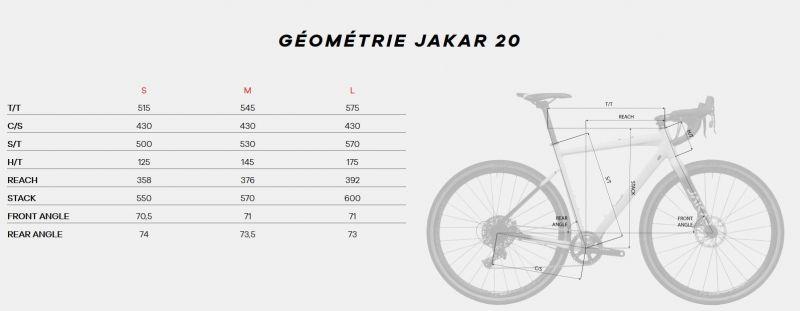 Vélo de Gravel Megamo Jakar 20 Noir 2020 - 1