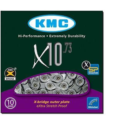Chaîne KMC X10.73 10 vitesses 114 maillons