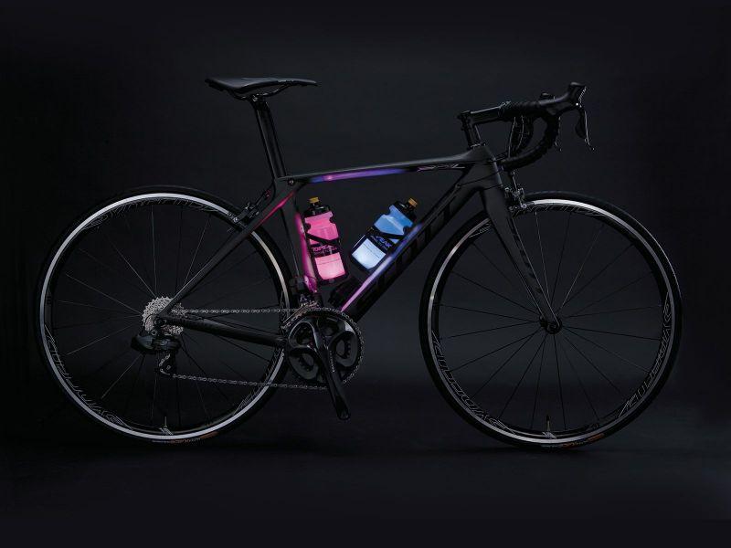 Porte-bidon lumineux Topeak iGlowCage B à LED Noir - 1