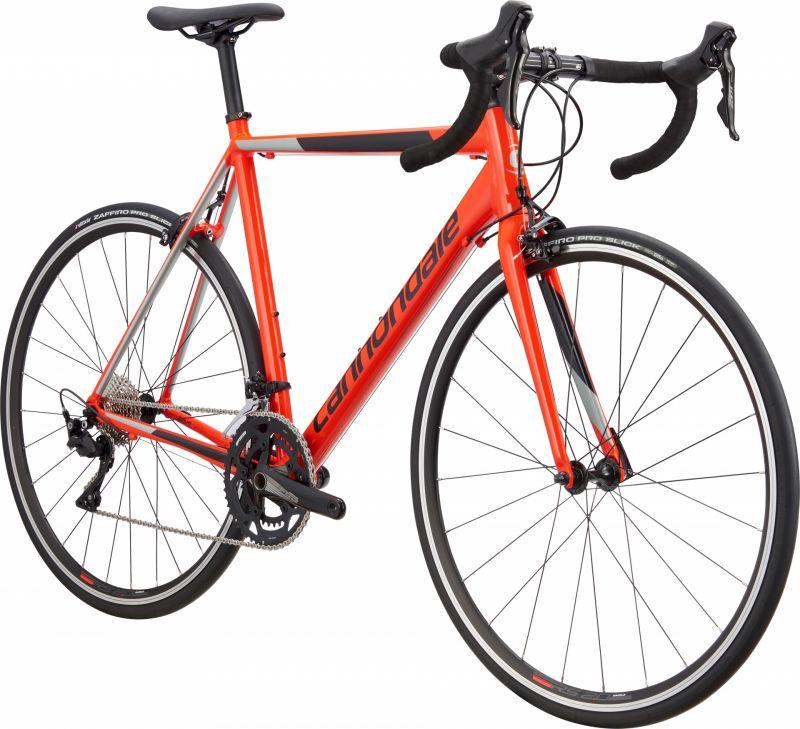 Vélo route Cannondale CAAD Optimo 105 Rouge Acid/Noir - 1