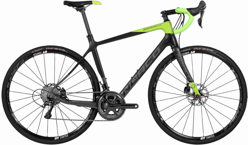 Vélo gravel Norco Search C Carbone Ultegra Vert/Gris