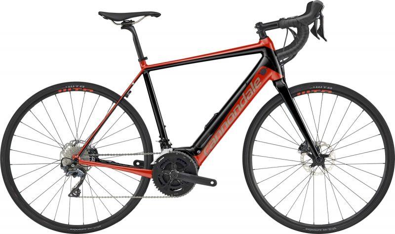 Vélo route électrique Cannondale Synapse NEO 2 Rouge Acid/Noir