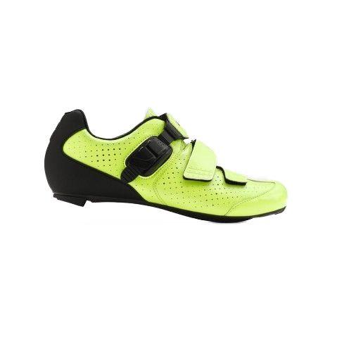 Chaussures route Giro Trans E70 Jaune Fluo/Noir