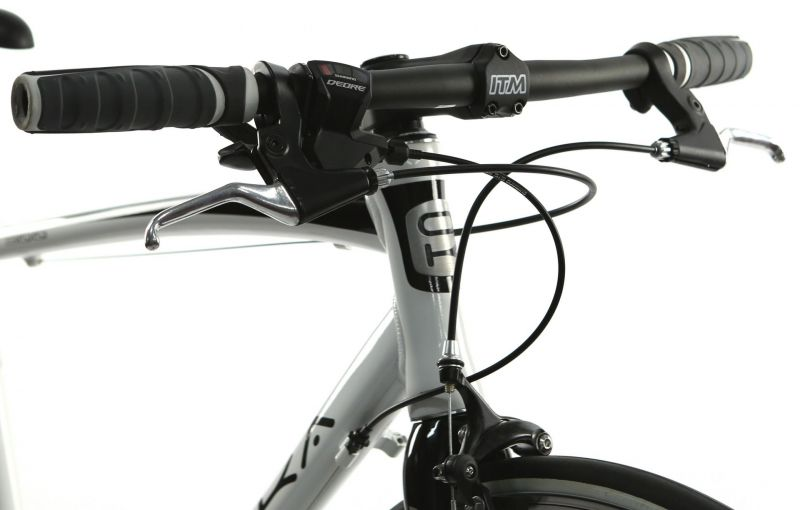 Vélo fitness ORKA Fit 300 9V fourche carbone - 1