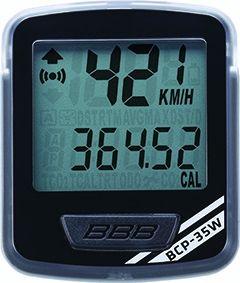 Compteur sans fil BBB NanoBoard 11 fonctions Noir/Argent - BCP-35W - 1