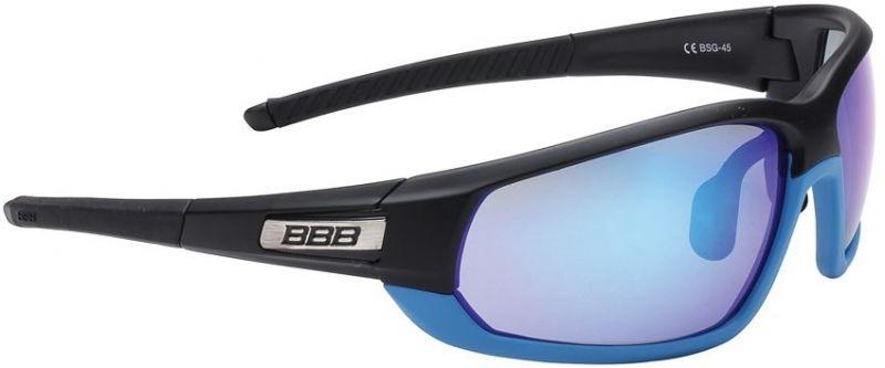 Lunettes BBB Adapt Fullframe Noir mat / bleu 4522 - BSG-45