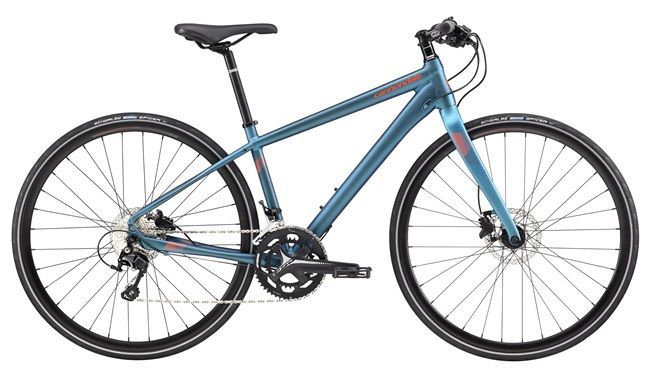 Vélo fitness Cannondale Quick Disc 1 Bleu foncé/Orange