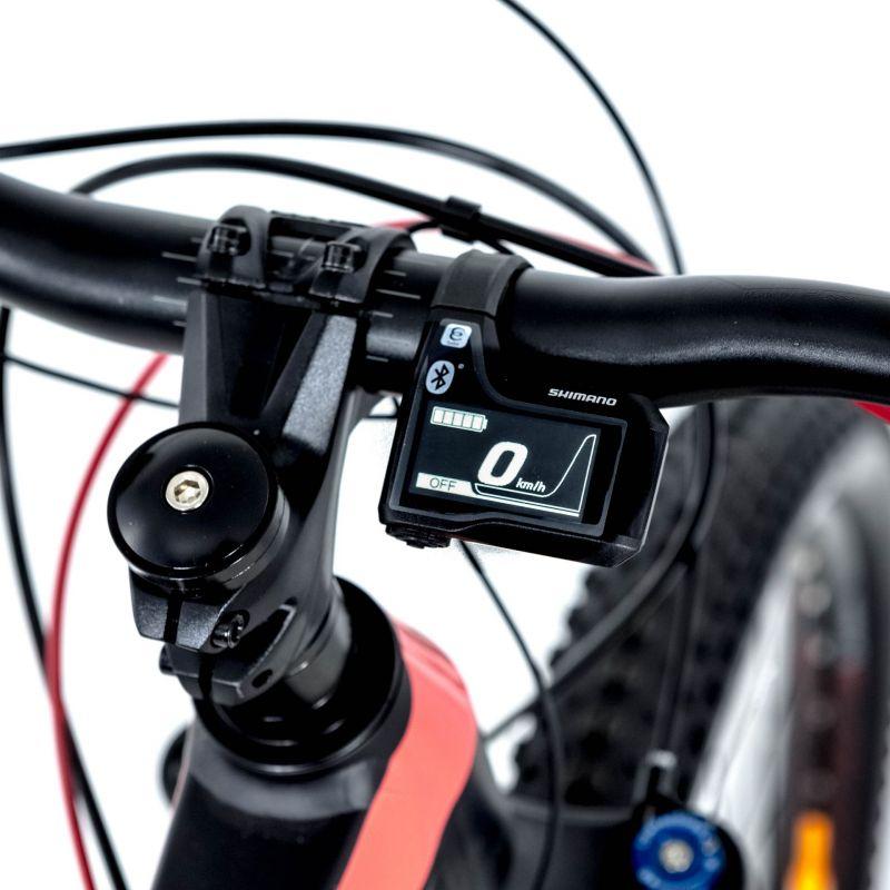 VTT électrique O2Feel Karma XT+ Noir/Rouge - 2