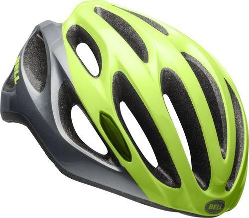 Casque Bell Draft Acier/Vert