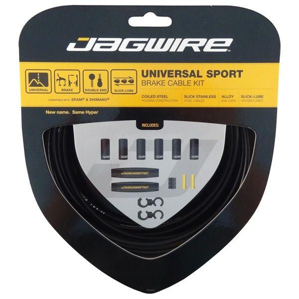 Kit câble et gaine de frein Jagwire Universal Sport - Noir UCK400