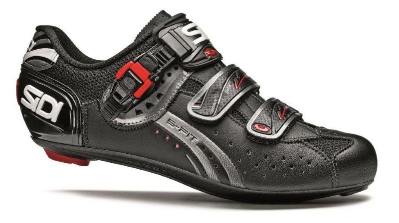 Chaussures Sidi GENIUS 5-FIT Carbon MEGA Noir mat
