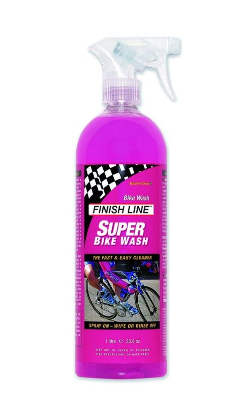 Nettoyant Finish Line Super Bike Wash Spray 1 L