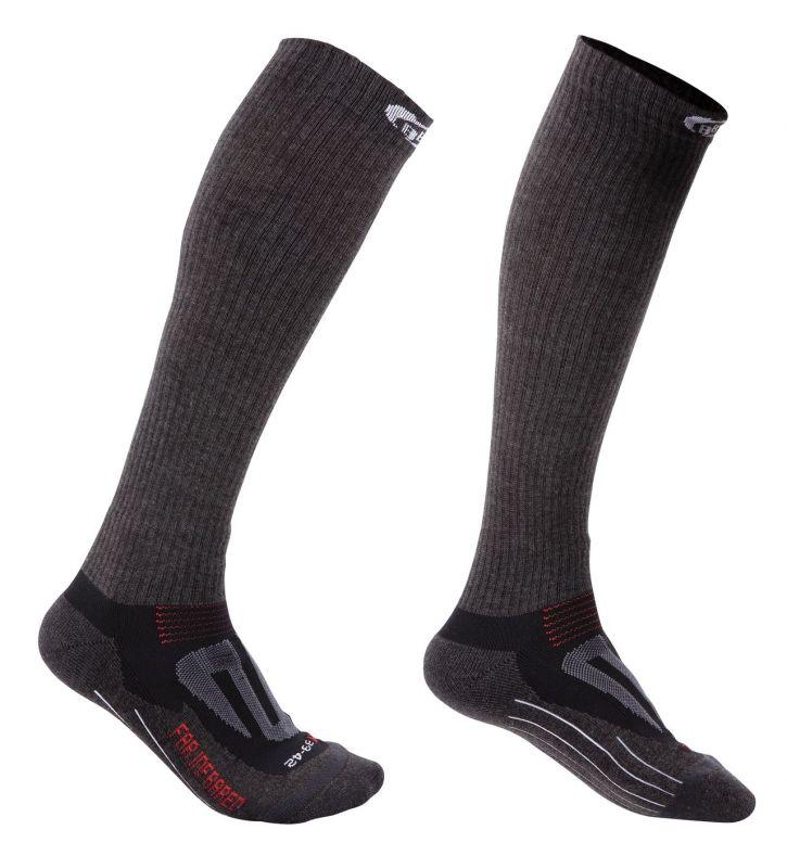 Chaussettes hautes BBB ErgoKnee FIR Noir - BSO-15