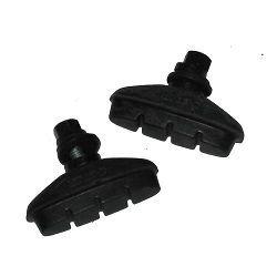 Porte-patins de frein à vis type Exage (La paire)