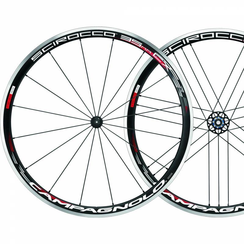 Paire de roues Campagnolo Scirocco 35 Black Campagnolo