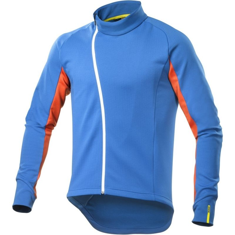 Maillot Mavic manches longues Crossmax Ultimate Thermo Montana/George Orange-X