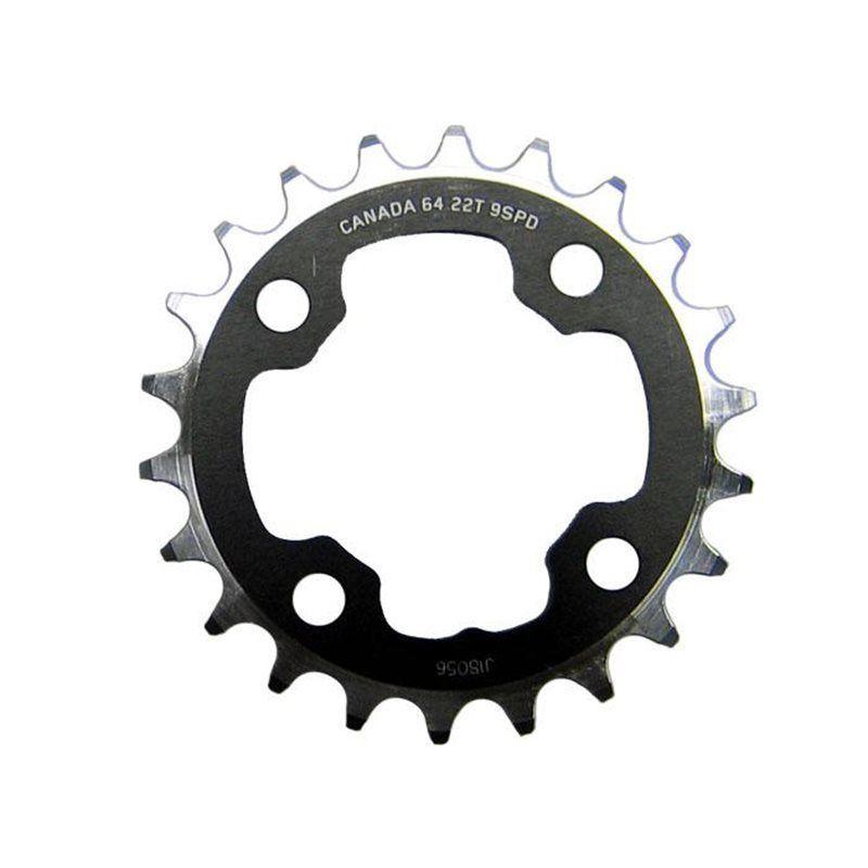 Plateau Race Face Team 64 x 22 noir