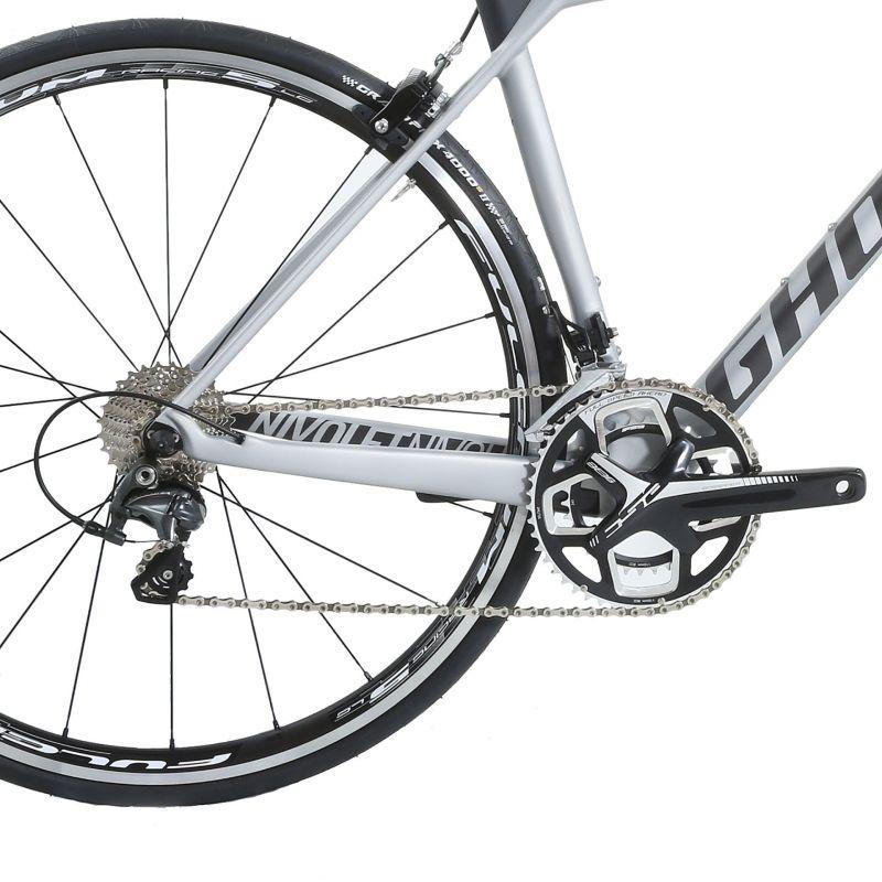 Vélo de route Ghost Nivolet 3 LC Argent/Titanium - 2
